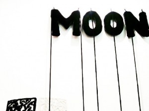 |-moon|-Vienna International Art Fair| #vienna #austria #viennafair #messewien #moon #blackandwhite #art