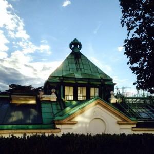 Palmenhaus #palmenhaus#roof#back#view#albertina#architecture#old#building#burggarten#wien#vienna