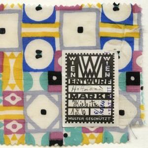 """Josef Hoffmann textile sample """"Kiebitz"""" [Peewit], Vienna, 1910–1915 © MAK #WegederModerne #Hoffmann #JosefHoffmann #textile #pattern #Vienna #Wien..."""