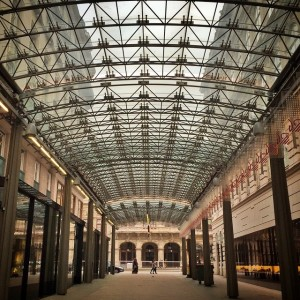 Glass roof in #vienna