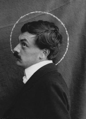"""Interesting picture! """"@walterolson: Koloman Moser (Vienna Secession, Wiener Werkstätte), circa 1903 """""""