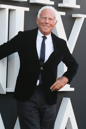 Giorgio Armani unveils his next step -