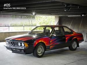 Ernst Fuchs, a Vienna art professor, was the first European artist to enhance a #BMW. #BMWArt