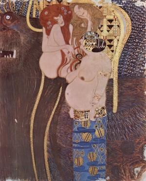 Beethoven Frieze(1902) - Gustav Klimt