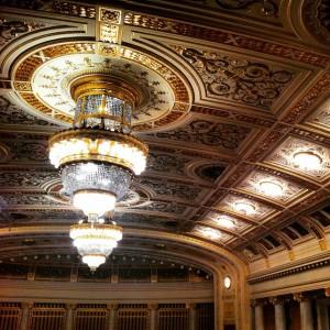 #wien #wienerkonzerthaus #ceiling #gold #golden #austria #music (at Wiener Konzerthaus)
