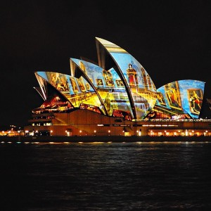 Tonight a multimedia event took place in Sydney. The Sydney Symphony Orchestra performed a musical tribute to...