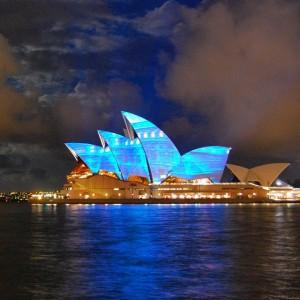 The Viennese Opera House on the Sydney Opera House = Opera on Opera = inception opera