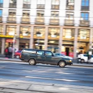 Classic Volvo supercar Opernring