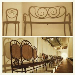Excellent Art Nouveau. #Jugendstil #StileLiberty #ArtNouveau #Thonet #furniture #art #artist #instaart #beautiful #masterpiece #artoftheday #Vienna #WeLoveVienna #Vienna_City...