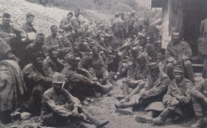 Prisoners from #Austria captured on the Isonzo #WWI #WW1 @WW1austria #Italy #Austria