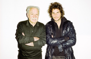 giorgio moroder and wolfram shot by me for vice alps, vienna 2013 #giorgio #moroder #wolfram #vice #alps...