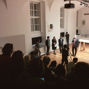 Opening #AlfredoBarsuglia at #MAK #MAKcabinet