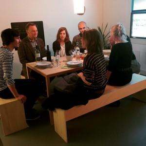Abendessen im Museum #AlfredoBarsuglia #MAKcabinet #appliedartsnow #MAK #mak_vienna #now #dinner