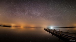 This #place has something in itself #milkyway #austria #timelapse @NeusiedlerSea