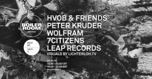 Incoming, Vienna: @HVOB_official / @peterkruder / @wolframamadeus / @Praterei / @LeapRecords ☞