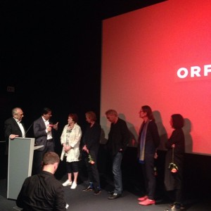 #Live aus dem mumok: VALIE EXPORT, Musikerin Gustav bei der Präsentation des ORF-Films zu ihrem Geburtstag. Am...