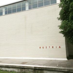 Art in the City on Location! #heimozobernig at the #austrianpavillon #biennaledivenezia in #venice😍