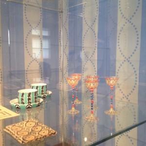 Impressionen von der heutigen Ausstellungseröffnung Der private Josef Hoffmann: