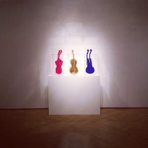 Arman, Hommage à Yves Klein, 1992 #ViennaGalleryWeekend #art #Wien #Vienna Galerie Ernst Hilger