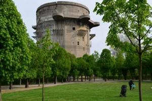 A walk on the ugly side in Vienna - giant Nazi flak towers and new apartments feature