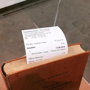 """Valentin Ruhry """"3,20€"""" (2015) @KunsthalleWien #destinationvienna2015 #valentinruhry @buechereiwien #schumpeter #debt"""
