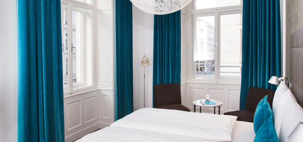 Opened in late 2014, the Hotel Vienna State Opera offers amazing design at a low price
