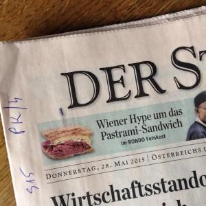 Scheffe heute in der Zeitung #pastrami