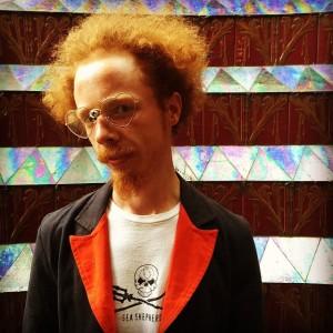 The one and only, artist Martin Cash 🎨🎉 @academyofvisionaryart #artist #visionaryart #seashepherd #vienna (at ERNST FUCHS Museum)
