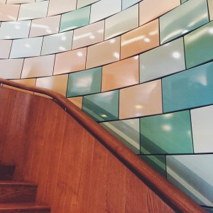 custom-made #Tiles! #colours #Lugeck #Figlmüller #vienna #architecture #bestschnitzelintown