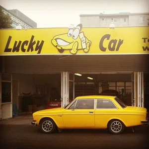 #allesklar #LuckyCar #Volvo142S www.lucky-car.at Lucky Car Handelskai
