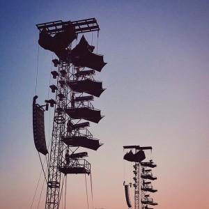 #Latergram vom Wochenende. #RockInVienna #RIV2015 #Vienna #igersvienna #Austria #igersaustria #ILOVEAUSTRIA #spotlight #sunset #sundown #sun #sky #music #live...