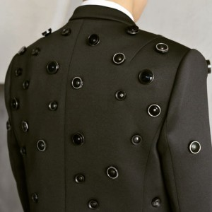 """Aposematic Jacketis a wearable #camera for self-defense. The lenses on the jacket broadcast the warning signal """"I..."""