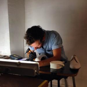 #TattooingNow #DanielRadic #ConstantinLuser Galerie Im Ersten, Sonnenfelsgasse 3