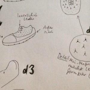 Jemals daran gedacht #Schuhe selbst herzustellen? Der #Demonstrator der #Ausstellung #2051: #Smart Life in the #City @mak_vienna...