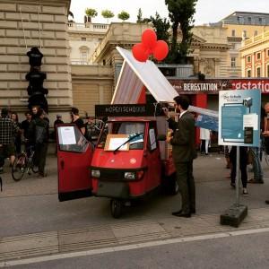 #openschoool bei der Essence #MAK #2051 #VIENNABIENNALE