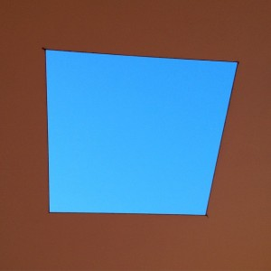 Skyspace Geymüllerschlössel. #summer #wien #vienna #makwien #sky #art #architecture #JamesTurrell #skyspace 🌀📍🚀🍉⭕️