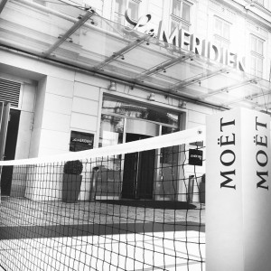 Caught in the net :) Music•Champagne•Food•Games Le Meridien Vienna will be the Match and Meeting Point for...