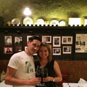 Отмечаем день рождения в старейшем (с 1475 года на минуточку ☝) ресторане Вены! Аж дух захватывает от...