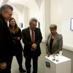 Bundespräsident Heinz Fischer auf privatem Vienna Biennale Besuch im #MAK #VB15 #twentyfourseven #HeinzFischer #MarliesWirth