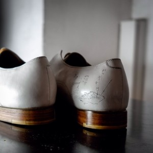 747 part1 — tattoowed #DanijelRadic shoes by #ConstantinLuser Galerie Im Ersten, Sonnenfelsgasse 3