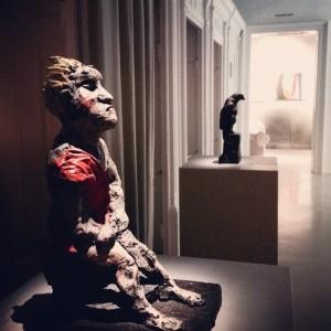 Visiting the #ArnulfRainerMuseum in #Baden! #exhibition of #markuslüpertz and #arnulfrainer #Sculpture #painting #architectur #art #vienna #austria #artandsignature...