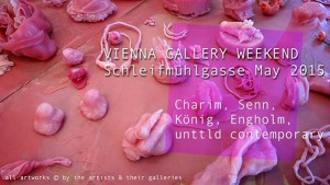 [NEW VID] #VIENNA GALLERY WEEKEND Schleifmühlgasse May 2015: Charim Senn König Engholm unttld
