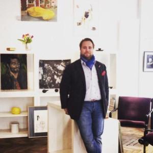Die erste #Charity #Galerie in #Wien! Michael Schmidt-Ott präsentiert heute beim @SalottoVienna die #Challery!