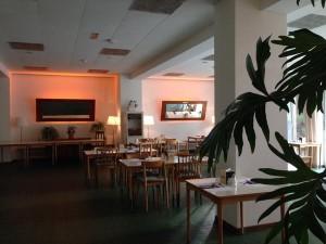 Frühstücksraum #MagdasHotel Upcycling Design: Daniel Büchel #ViennaBiennale #2051