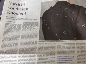 Aposematic Jacket on @salzburg_com | Our last performance in @VieBiennale 2pm at AIL today