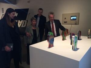 Bundespräsident Heinz Fischer auf privatem VIENNA BIENNALE Besuch im MAK #VB15 #twentyfourseven #MAK #Bundespräsident