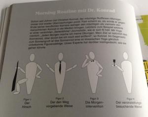 Wir machen Yoga mit Christian Konrad, und ihr so?