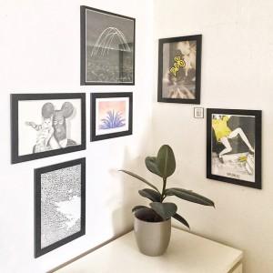 hello, little artcorner #art #artist #kryot #peterphobia #walls #unknown #kangding_ray #plant #pflanze #furniture #corner #white #minimal #minimal-love...