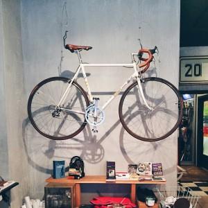 A coffee x bike shop! #VSCOcam (I'm drinking