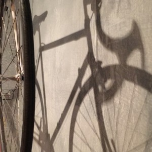 Isn't this a beautiful shadow of the wall decoration at café Radlager in Vienna? Radlager Palazzo